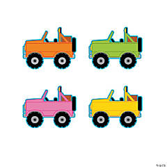 Jeep Bulletin Board Cutouts