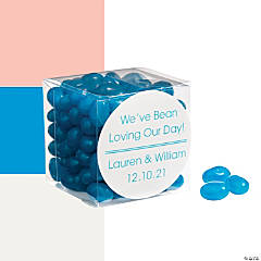 Jelly Bean Favors with Personalized Sticker