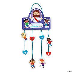 Jesus & the Children Mobile Craft Kit