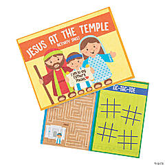 Jesus at the Temple Activity Sheets