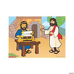 Jesus Calls Matthew Mini Sticker Scenes