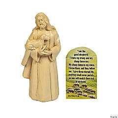 Jesus Figurine Handouts with Card