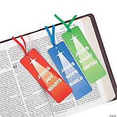 Jesus is the Light of Christmas Bookmarks