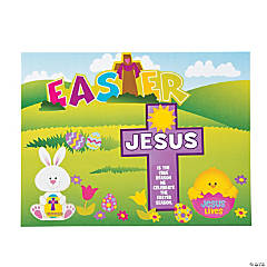 """""""Jesus Is the Reason For the Season"""" Easter Sticker Scenes"""