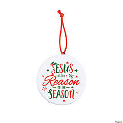 Jesus Is The Reason Ornaments with Easel