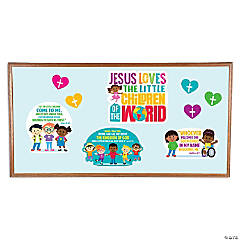 Jesus Loves All the Children Bulletin Board Set