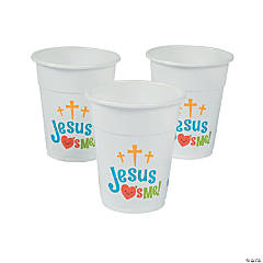 Jesus Loves Me Cups