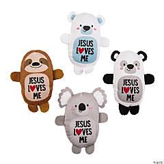 Jesus Loves Me Stuffed Animal Assortment