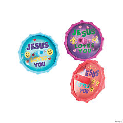 Jesus Loves You Spin Tops