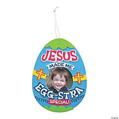 Jesus Made Me Egg-Stra Special Frame Craft Kit