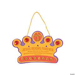 Jesus Reigns Crown Sign Craft Kit