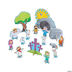 Jesus Resurrection Playset
