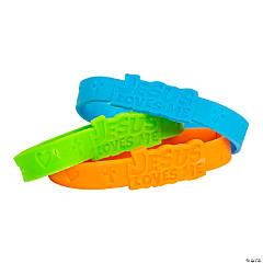 Jesus Rubber Bracelets