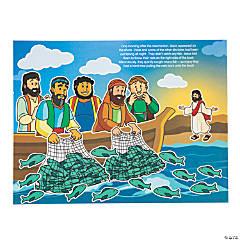 Jesus Visits His Disciples Sticker Scenes