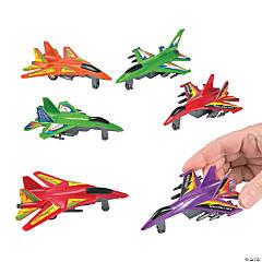 Jet Fighter Pull-Back Toys