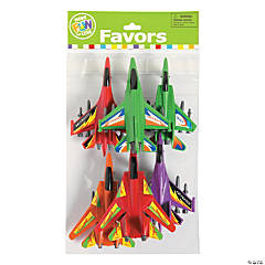 Jet Fighter Pull-Back Toys
