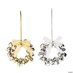 Jingle Bell Wreath Ornaments
