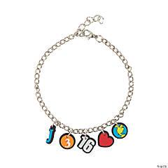 John 3:16 Charm Bracelets