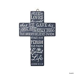 John 3:16 Cross Wall Decoration