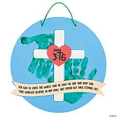 John 3:16 Handprint Sign Craft Kit