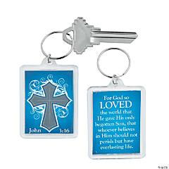 John 3:16 Keychains