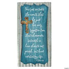 John 3:16 Wall Sign