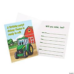 John Deere™ Johnny Tractor Invitations