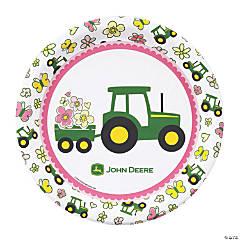 John Deere™ Pink Dinner Plates