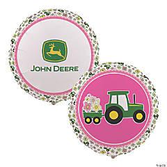 John Deere™ Pink Mylar Balloon
