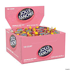 JOLLY RANCHER Hard Candy in Watermelon Flavor, 160 Count