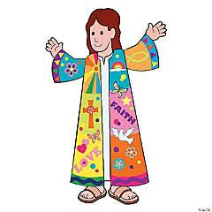 Joseph And His Colored Coat Sticker Scenes