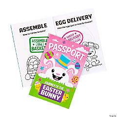 Journey of the Easter Bunny Passport Sticker Books