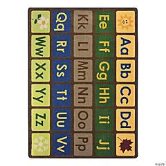 Joy Carpets Any Day Alphabet 7'8