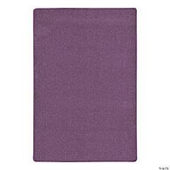 Joy Carpets Endurance 4' X 6' Classroom Rug in Purple