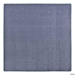 Joy Carpets Endurance 6' X 6' Classroom Rug in Glacier Blue