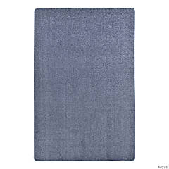 Joy Carpets Endurance 6' X 9' Classroom Rug in Glacier Blue