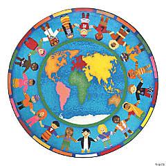 Joy Carpets Hands Around The World 7'7
