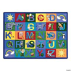 Joy Carpets Learning Letter Sounds 7'8