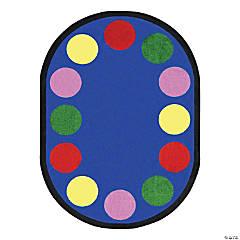 Joy Carpets Lots Of Dots 7'8