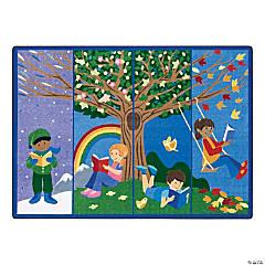 Joy Carpets Seasons Of Reading 5'4