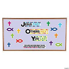 Joy Religious Mini Bulletin Board Set