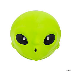 Jumbo Alien Slow-Rising Squishy Toy