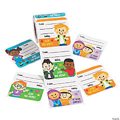 Jumbo Ask Me About My Day Stickers