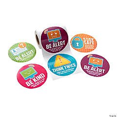 Jumbo Digital Awareness Stickers