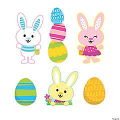 Jumbo Easter Bunny Cutouts