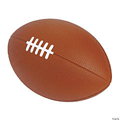 Jumbo Football Slow-Rising Squishy Toy
