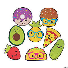 Jumbo Funtastic Food Friends Cutouts