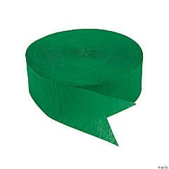 Jumbo Green Paper Streamer