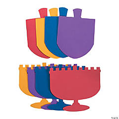 Jumbo Hanukkah Shapes