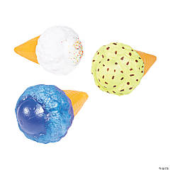 Jumbo Ice Cream Cone Squishies